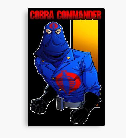 Cobra Commander Canvas Print
