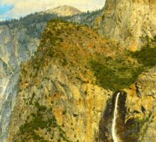 A scenic view of Yosemite National Park Sticker