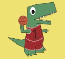 Dinosaur Baller Kids Tee