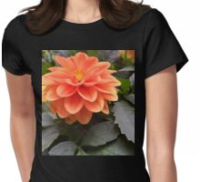 Orange Delight Womens Fitted T-Shirt