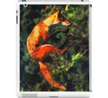 Fabulous Foxes: A Leap of Faith iPad Case/Skin