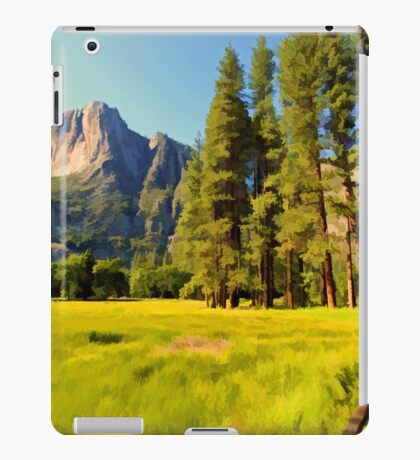 A scenic view of Yosemite National Park iPad Case/Skin