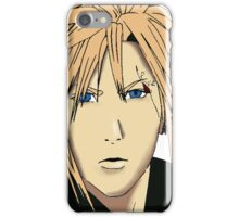 Cloud Strife Drawing iPhone Case/Skin
