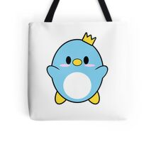 Blue Penguin Tote Bag