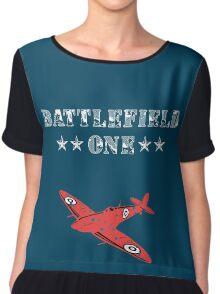 Battlefield World War One Red Baron Chiffon Top