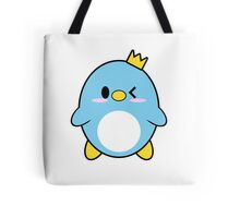Blue Penguin Wink Tote Bag