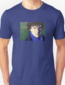Benedict Cumberbatch as Sherlock Design 2 Unisex T-Shirt