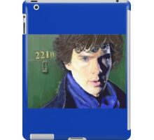 Benedict Cumberbatch as Sherlock Design 2 iPad Case/Skin