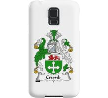 Crumb Coat of Arms / Crumb Family Crest Samsung Galaxy Case/Skin