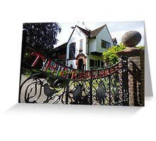Red Gables Cottage, Rothamsted Research Greeting Card