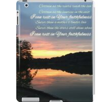 in Your faithfulness iPad Case/Skin