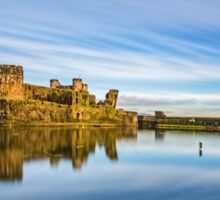 Caerphilly Castle Sticker