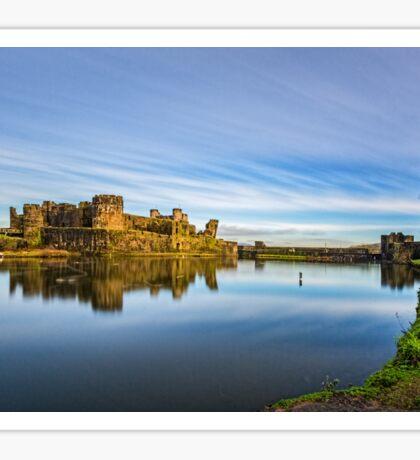 Caerphilly Castle Sticker