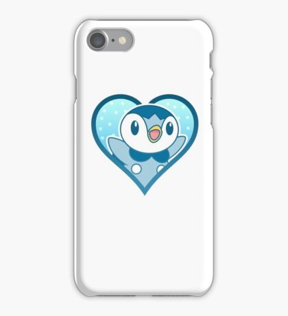 Piplup Heart iPhone Case/Skin