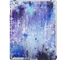 Blue Abstract iPad Case/Skin