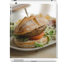 food restaurant kitchen meat iPad Case/Skin
