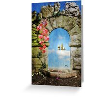 Once- Upon- A Dream Greeting Card