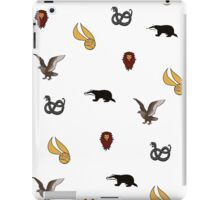 Quidditch through the Houses iPad Case/Skin