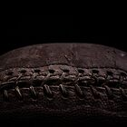 Vintage old football by Edward Fielding