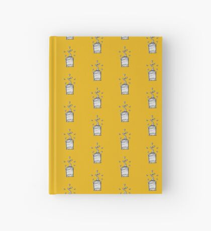 Plant in Yellow Hardcover Journal
