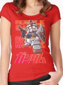 Gundam 02 Women's Fitted Scoop T-Shirt