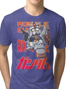 Gundam 02 Tri-blend T-Shirt