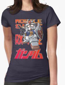 Gundam 02 Womens Fitted T-Shirt