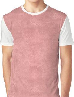 Rosette Oil Pastel Color Accent Graphic T-Shirt