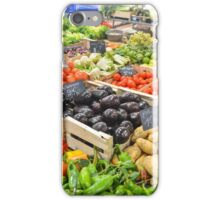 food healthy vegetables potatoes iPhone Case/Skin