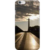 Vietnam war memorial in Washington DC iPhone Case/Skin