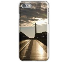 Vietnam war memorial in Washington DC iPhone Case/Skin