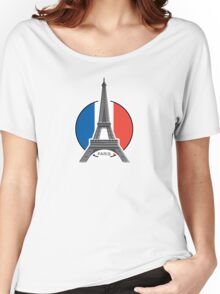 Around the world - Paris Women's Relaxed Fit T-Shirt