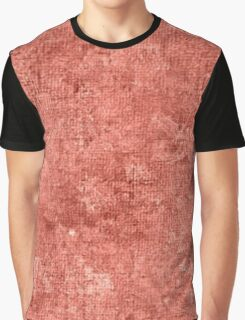Terra Cotta Oil Painting Color Accent Graphic T-Shirt