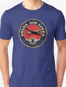 Delta Airlines Vintage USA Unisex T-Shirt