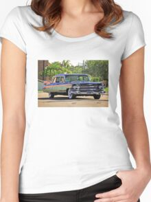 '59 Cadillac Fleetwood Limo Women's Fitted Scoop T-Shirt