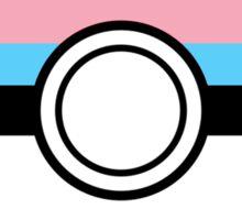 Pokeballs: Trans Sticker