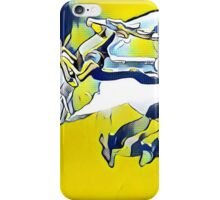 Deer on Jaundice iPhone Case/Skin