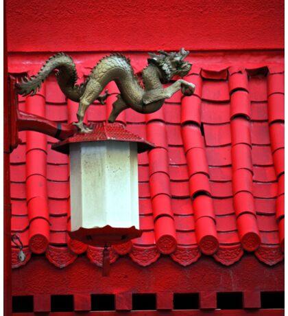 Chinese Dragon Street Light Sticker