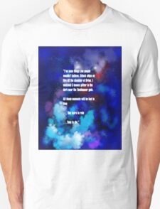 Tears in the Rain Unisex T-Shirt