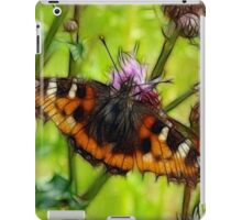 Butterfly and Thistles iPad Case/Skin