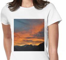 Austrian Sunset Womens Fitted T-Shirt