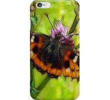 Butterfly and Thistles iPhone Case/Skin