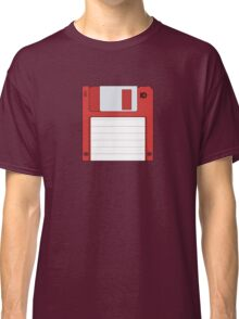 "3.5"" HD Floppy Disc (Red)  Classic T-Shirt"