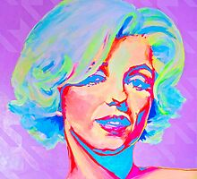 Marilyn Monroe Pop Art Candy by MissAnnaHall