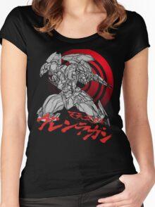 Gurren-Lagann Women's Fitted Scoop T-Shirt