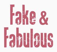 Fake And Fabulous Kids Tee