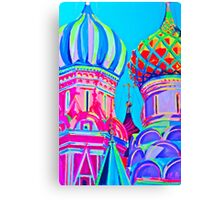 St Basil's Cathedral, Moscow Canvas Print