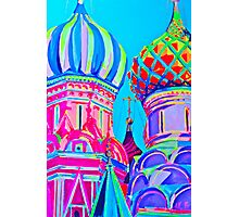 St Basil's Cathedral, Moscow Photographic Print