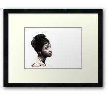Aretha Framed Print