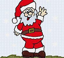 Santa by Susan S. Kline